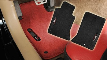 C5 Base / Z06 Corvette 97-04 Floor Mats Data Spec Series