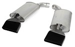 1984-1996 C4 Corvette LT1 Style Turbo Mufflers, Pair