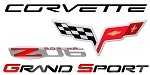 Corvette C6 2005-2013 Full Size Re-Stickable Wall Decals