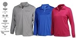 Corvette Mesh Tech Pullover For Men and Women