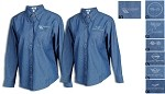 Mens and Womens Corvette Denim Shirt