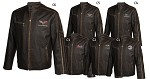 1968-2013 C3 C4 C5 C6 Corvette Racer Welterweight Leather Jacket - Regular