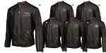 C3 C4 C5 C6 Corvette 1968-2013 Featherweight Leather Jacket - Regular