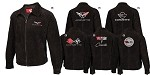 C3 C4 C5 C6 1968-2013 Corvette Suede Bomber Jacket - Long