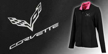 C7 Corvette Full Zip Ladies Jacket