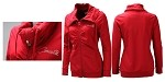 Corvette Ladies Squeeze Play Full Zip Jacket