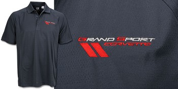 C6 Mogul Polo With Grand Sport Logo