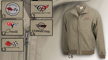 Mens Downtown Corvette Jacket