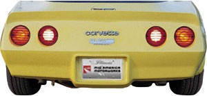 C3 1980-82 Corvette Tailllight Louvers