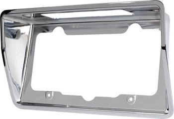1968-1973 C3 Rear Corvette License Bezels