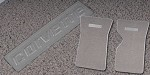 C3 Corvette 1968-82  Floor Mats with Embossed CORVETTE Lettering