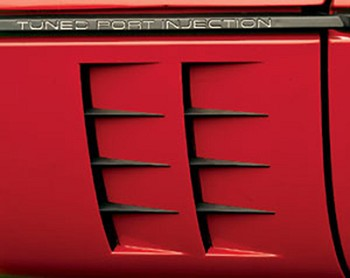 Custom 1984-90 Corvette C4 Side Port Louvers