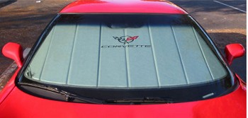 Corvette C5 Folding Logo Sunshade