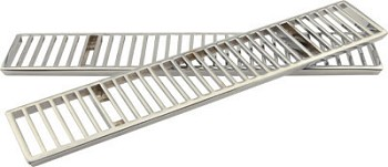 Corvette C3 1968-76 Chrome Rear Deck Vent Grilles