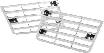 1980-82 C3 Corvette Chrome Fender Louvers