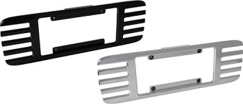 Corvette C5 97-04 Billet License Plate Frames - Black or Chrome