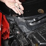 Corvette C4 84-96 Emergency Hood Release Cable