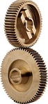 C4 Corvette Headlight Gears 1984-1987 Heavy Duty Bronze Large Gear