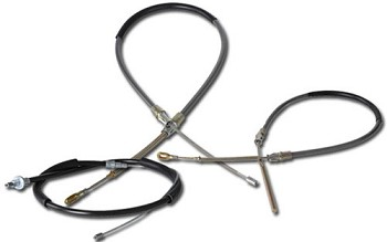 1984-1996 C4 Corvette Parking Brakes Cable Complete Kits