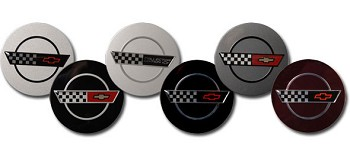 C4 1984-1996 Corvette Center Wheel Caps
