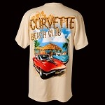 C3 C4 CORVETTE MID-YEAR BEACH CLUB T-SHIRT