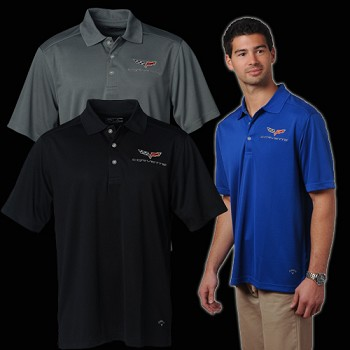 C6 Corvette 2005-2013 Callaway Dry Core Polo Shirt