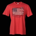 C6 CORVETTE TORN FLAG T-SHIRT