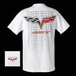 C6 CORVETTE 60th ANNIVERSARY LOGO T-SHIRT