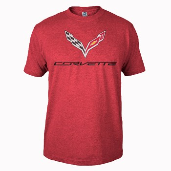 MEN'S 2014 C7 CORVETTE HEATHER TEE