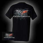 C6 CORVETTE FLAG LOGO