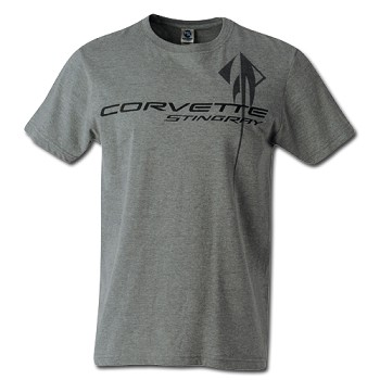 C7 CORVETTE STINGRAY CHEST LOGO T-SHIRT