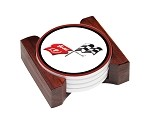C3 C4 C5 C6 ZR1 Corvette Ceramic Coaster Sets