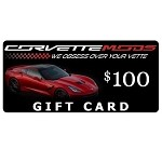 $100 Corvette Mods Gift Card