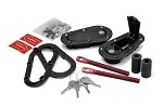C5 C6 C7 Corvette 1997-2014+ AeroCatch Plus Flush Hoodpins Latch and Pin Kit - Black - With Lock