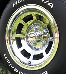 1976-1982 or 1968-1975 Upgrade Corvette C3 Aluminum Wheels Chrome & Pace Car