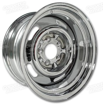 1968-1982 Corvette C3 OEM Style Rallye Wheels - Chromed