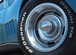 1968 Corvette C3 Rally Wheel Set Reproduction OE