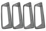 Corvette C3 1969 Side Louver Insert 4pc Set Replacement