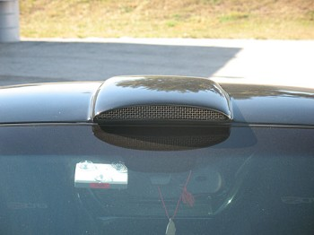 Corvette C5 C6 97-13 GT2 Hurricane Air Scoop Functional