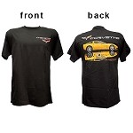 C6 Corvette Coupe and Corvette Racing Tee Shirt