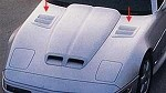 C4 Corvette 1984-1996 Functional Hood Louvers - C4R John Greenwood Design