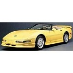 C4 Corvette 1991-1996 - Phase 3 Front Ground Effects - Spoiler