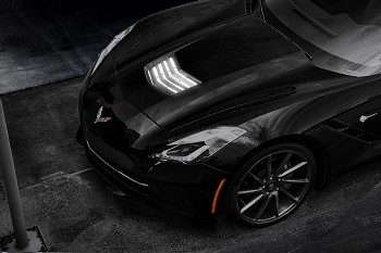 C7 Corvette Stingray 2014+ LED Strip Lighting - Hood Vent