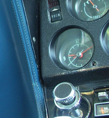 1975-1982 C3 Corvette Quartz Clock