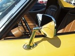 1968-1979 Corvette C3 Outside Mirror W/Mounting Kit