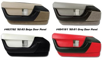 1990-1993 C4 Corvette Standard Door Panels