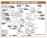 1997-2004 C5 Corvette Blower Case Seal Kit