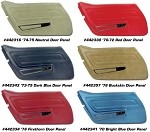 1970-1977 Corvette C3 Standard Door Panels