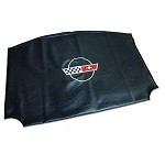 C3 C4 Corvette 1968-1996 Black Roof Panel Bags - Embroidered with Logo