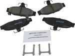 C4 Corvette 1988-1996 ACDelco Dura Stop Ceramic Friction Brake Pads - Rear & Front